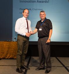 Winner Eddy Segal, VP Sales at Utilis, Israel.