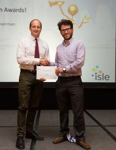 Winner Dr. Eoin Syron, CTO at Oxymem, Ireland