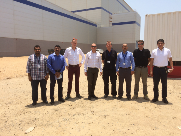 The SIBCO team together with Isle experts